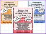 3rd Grade Common Core Math Study Guide - ALL Standards Bundle Pack 20% Discount