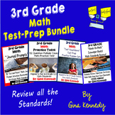 3rd Grade Math Test-Prep Bundle Practice Tests, Projects a