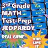 3rd Grade Common Core Math-Test Prep Jeopardy (CAASPP, Sma