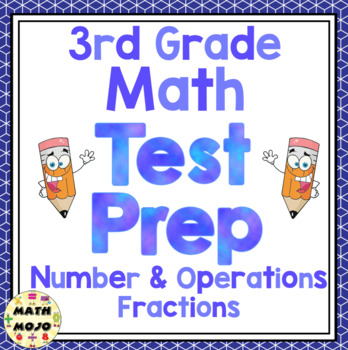 3rd Grade Common Core Math Test Prep - Number and Operations - Fractions