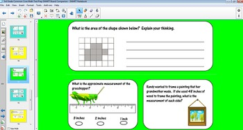 Common Core Math Test Prep SMART Board Companion (3rd Grade)