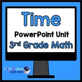 Telling Time and Elapsed Time Math Unit 3rd Grade Common Core