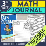 3rd Grade Math Journal Prompts | Math Journals | 3rd Grade