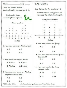 3rd Grade Common Core Math Worksheets ALL STANDARDS by ...