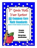 3rd Grade Test Prep Common Core Math Year Review!