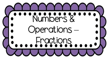 3rd Grade Common Core Math headers