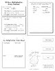 3rd Grade Common Core Math Christmas-Themed Interactive Notebook BUNDLE - 75 p