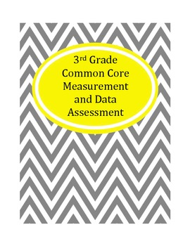 3rd Grade Common Core Measurement and Data Assessment