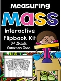 3rd Grade Common Core-Measuring Mass Interactive Flipbook Kit