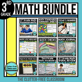 3rd Grade Common Core Mega Bundle {vocabulary, RTI, essential questions}