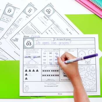 3rd Grade Morning Work • Spiral Review Morning Work 3rd by Second ...