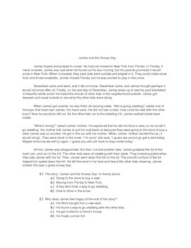 3rd Grade Common Core Nonfiction and Fiction Reading Comprehension Packet