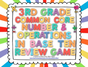 3rd Grade Common Core Number and Operations in Base Ten Re