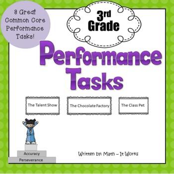 3rd Grade Common Core Performance Tasks