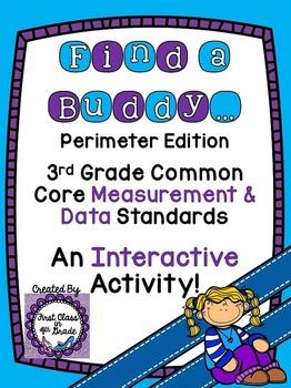 3rd Grade Common Core Perimeter (Find a Buddy)