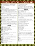 3rd Grade Common Core Quick Reference Sheet, ELA and Math