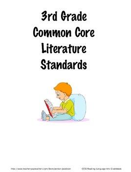 3rd Grade Common Core Reading/Language Arts Standards Gradebook