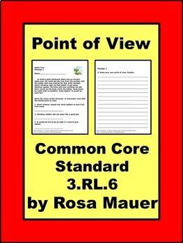 Point of View Common Core
