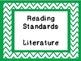 3rd Grade Common Core Standards Chevron Theme