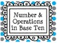 3rd Grade Common Core Standards Labels - Horizontal