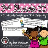 """3rd Grade Common Core """"I Can"""" Statements- Kid Friendly"""