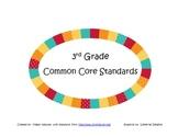 3rd Grade Common Core Standards