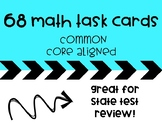 Math Task Cards For Math Centers, Test Prep, Early Finishers & Math Review