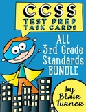 3rd Grade Common Core Task Cards - ALL STANDARDS BUNDLE