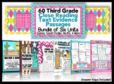 3rd Grade Common Core: Text Evidence Passages for Homework, Assessments & More