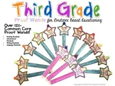 3rd Grade Common Core Textual Evidence Proof Wands