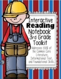 3rd Grade Common Core: Tools for Interactive Reading Notebook 100% Aligned