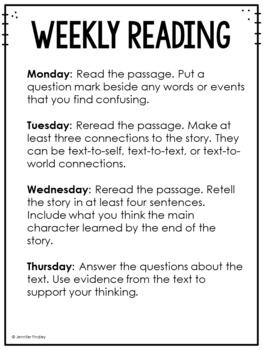 3rd Grade Common Core Weekly Reading Review {Set 1: Fairy Tales}