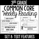 3rd Grade Reading Review   Set 8: Text Features   Common C
