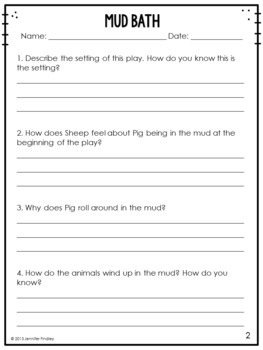 3rd Grade Reading Review | Set 9: Plays | Common Core Aligned