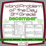 Word Problems 3rd Grade, December, Spiral Review, Distance