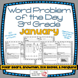 Word Problems 3rd Grade, January