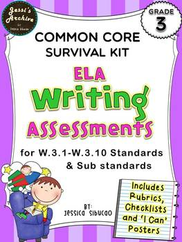 Common Core Writing 3rd Grade