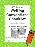 3rd Grade Common Core Writing Conventions Checklist