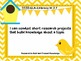 "3rd Grade Common Core Writing - ""I Can"" Learning Targets - Birds"