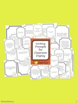 Writing Prompts 3rd Grade Common Core Bundle – December, January, February