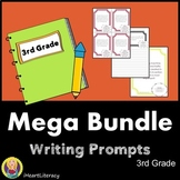Writing Prompts 3rd Grade Common Core Year-Long Mega Bundle