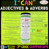 3rd Grade Grammar Game | Adjectives & Adverbs| Comparative & Superlative