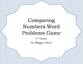 3rd Grade Comparing Numbers Word Problems Game