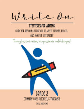 Writing 3rd Grade Common Core Writing Lady