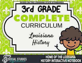 3rd Grade - Complete Curriculum - Louisiana History