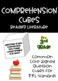 3rd Grade Comprehension Cubes for Reading Literature - Com