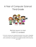 Computer Science Coding Digital Citizenship STEM Year Plans & More