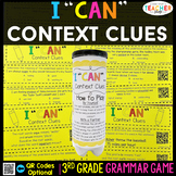 3rd Grade Context Clues, Affixes, Roots Game