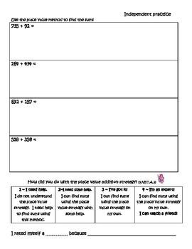 3rd Grade Core Addition Strategies 3.NBT.2