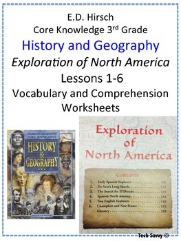 3rd Grade Core Knowledge History and Geography: Exploration of North America